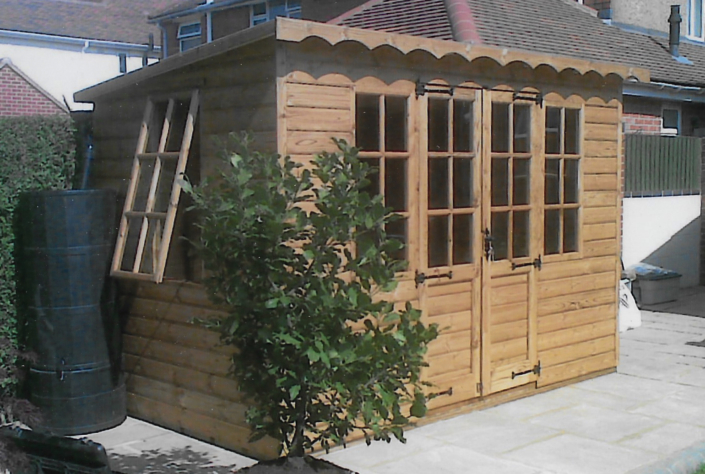 10 x 6 Pent summer house