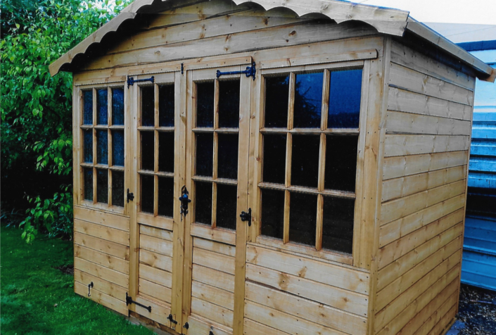 10 x 6 summer house