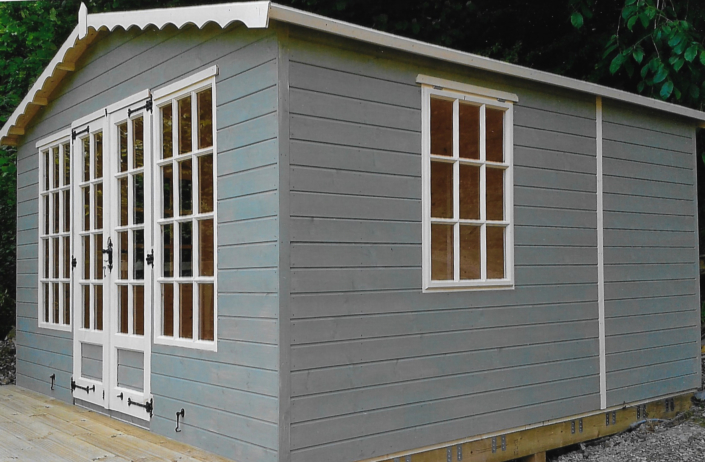 12 x 12 Summer house Shed combo