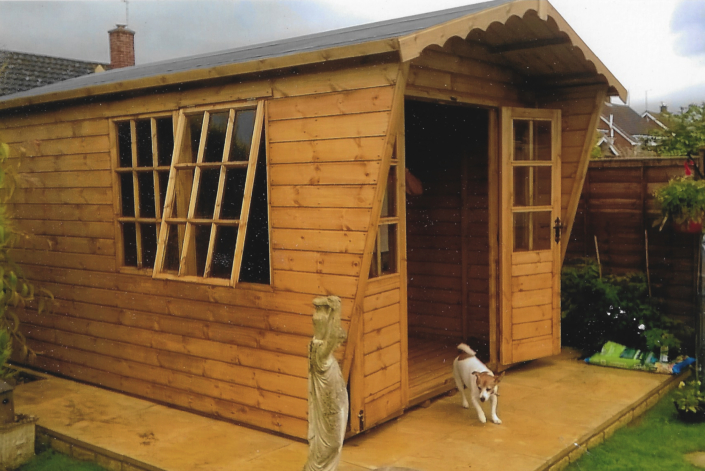13 x 8 Georgian summer house