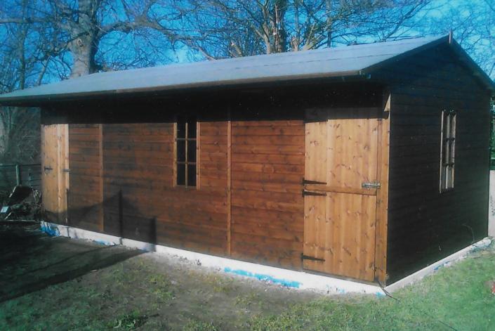 22 x 11 Workshop shed building