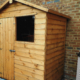 6 x 4 Garden shed with frond window