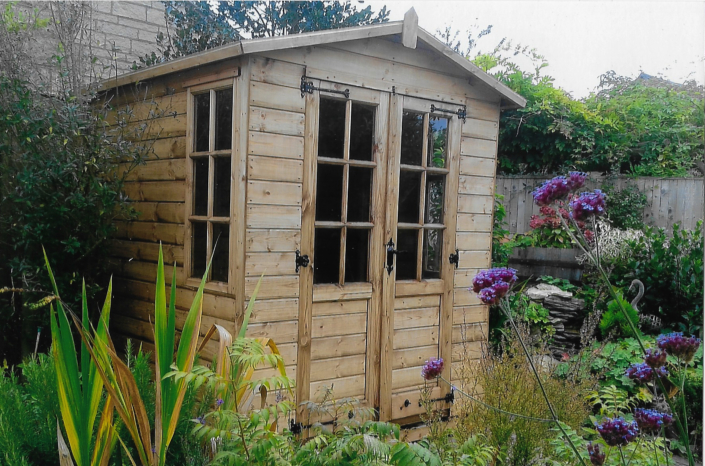 6 x 6 summer house