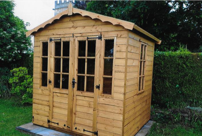 7 x 6 summer house