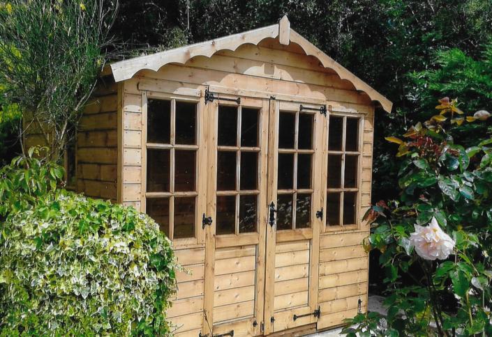 8 x 6 summer house