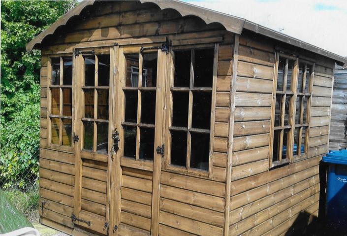 9 x 8 summer house